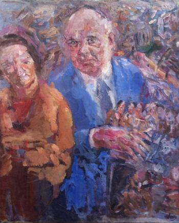 galerie-ahlers-bernhard-heisig-irene-und-peter-ludwig-ca-1990-120x90