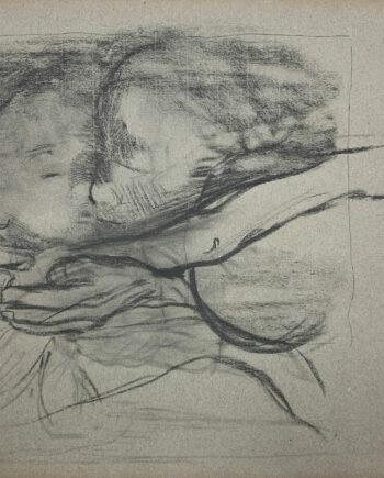 galerie-ahlers-kaethe-kollwitz-blatt-nummer-11-abschied-1920-54x45,5