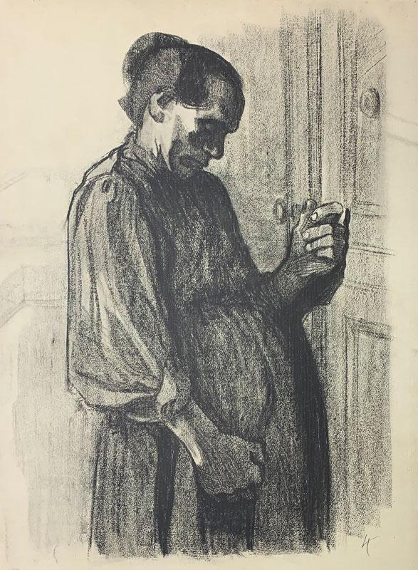 galerie-ahlers-kaethe-kollwitz-blatt-nummer-19-zeichnung-fuer-den-simplicissimus-1920-60x45