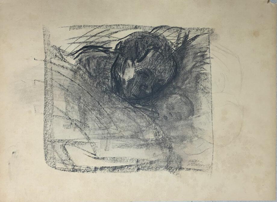 galerie-ahlers-kaethe-kollwitz-blatt-nummer-21-mutter-am-bett-des-toten-kindes-1920-43x59