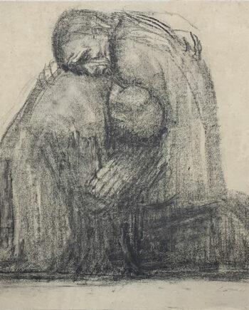 galerie-ahlers-kaethe-kollwitz-blatt-nummer-24-eltern-1920-43x56