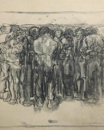 galerie-ahlers-kaethe-kollwitz-blatt-nummer-7-gefangene-1920-40,5x55,5