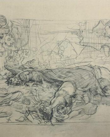 galerie-ahlers-kaethe-kollwitz-blatt-nummer-8-vergewaltigte-1920-39x58,5
