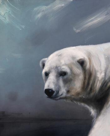 galerie-ahlers-sigrid-nienstedt-eisbär-und-straße-2021