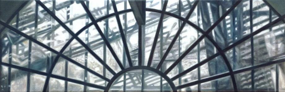 galerie-ahlers-anette-besgen-arsenale-1,-2017,-oel-lw-20-x-60-cm